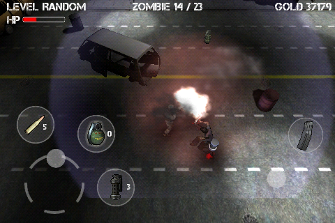 Screenshot Z.I.D : Zombies In Dark FREE