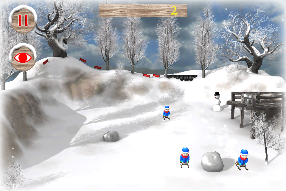 Screenshot Snow Game 3D Free – First Snow